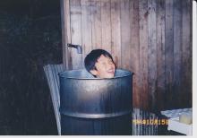 (17)ドラム缶風呂