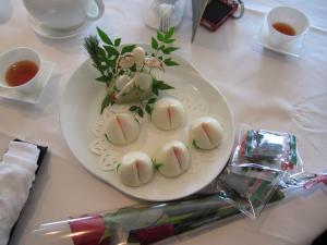 皇苑 桃饅頭
