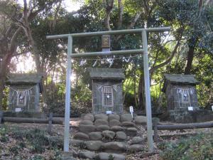 走水神社 古い社