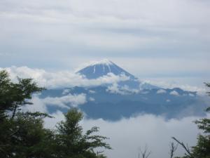 帯那山 富士山