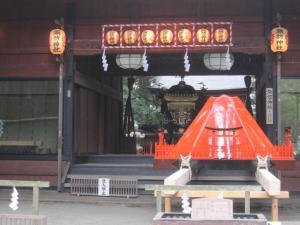 火祭り 富士山のお神輿
