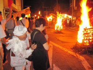 火祭り ご祈祷