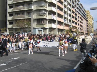 パレード開始!