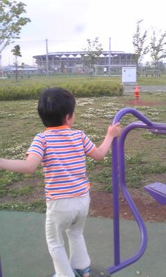 フクアリ前の公園