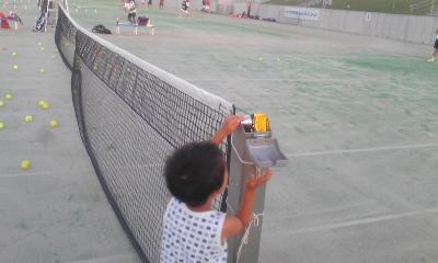 テニスはやっぱナイター