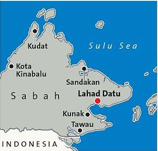 サバ州地図