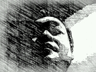 PCオイラの白黒
