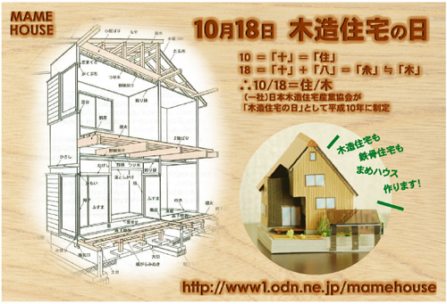 ミニチュアサイズの家模型まめハウス