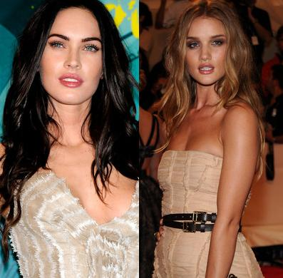 Rosie Huntington-Whiteley_Megan Fox
