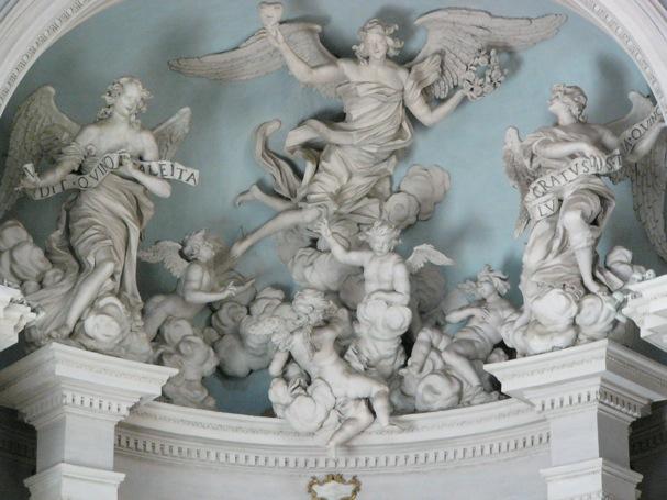 イタリア石像