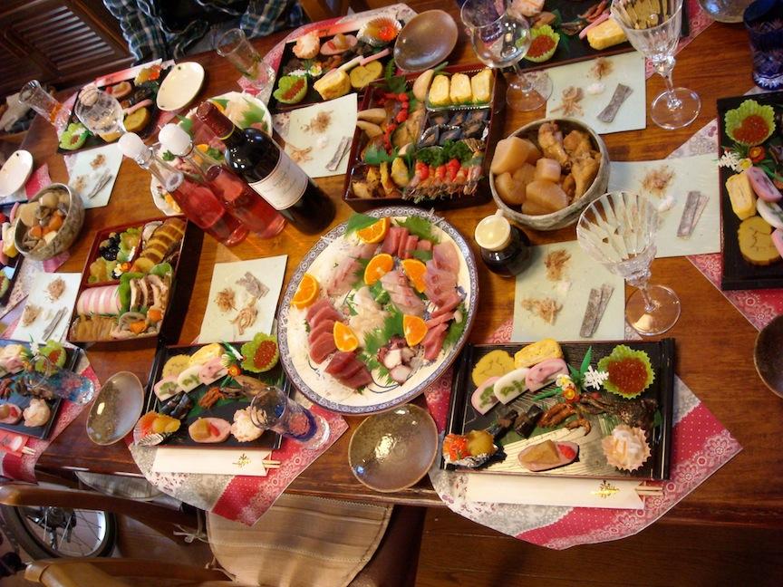 テーブル料理