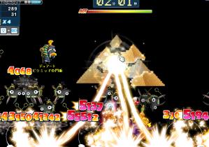 ピラミッド パワー連発