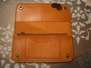 手縫い長財布2