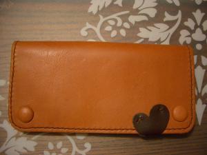 手縫い長財布1