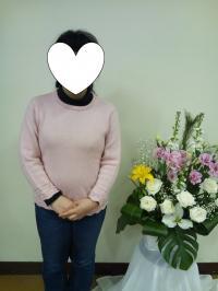 真理ちゃんピンクセーター2012