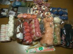 毛糸の山2012.1