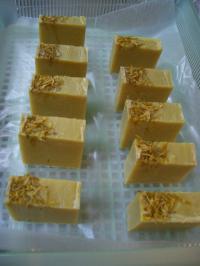 カモミール石鹸完成2012.2