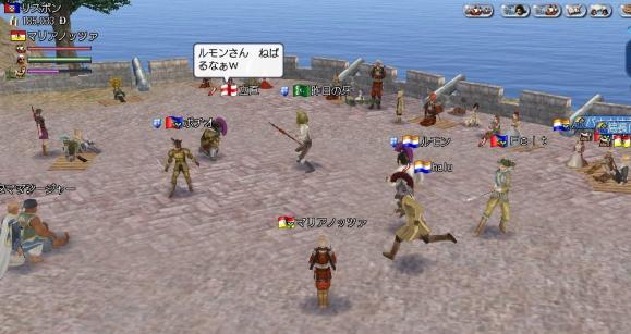 ミクシィ用0030 9月10日 近藤武休止式、戦闘の様子、牙ルモンhalu、Feltポチオ