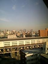 遠くに見えるは空中庭園。