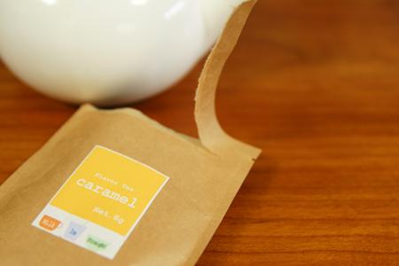 コーヒー屋さんの紅茶