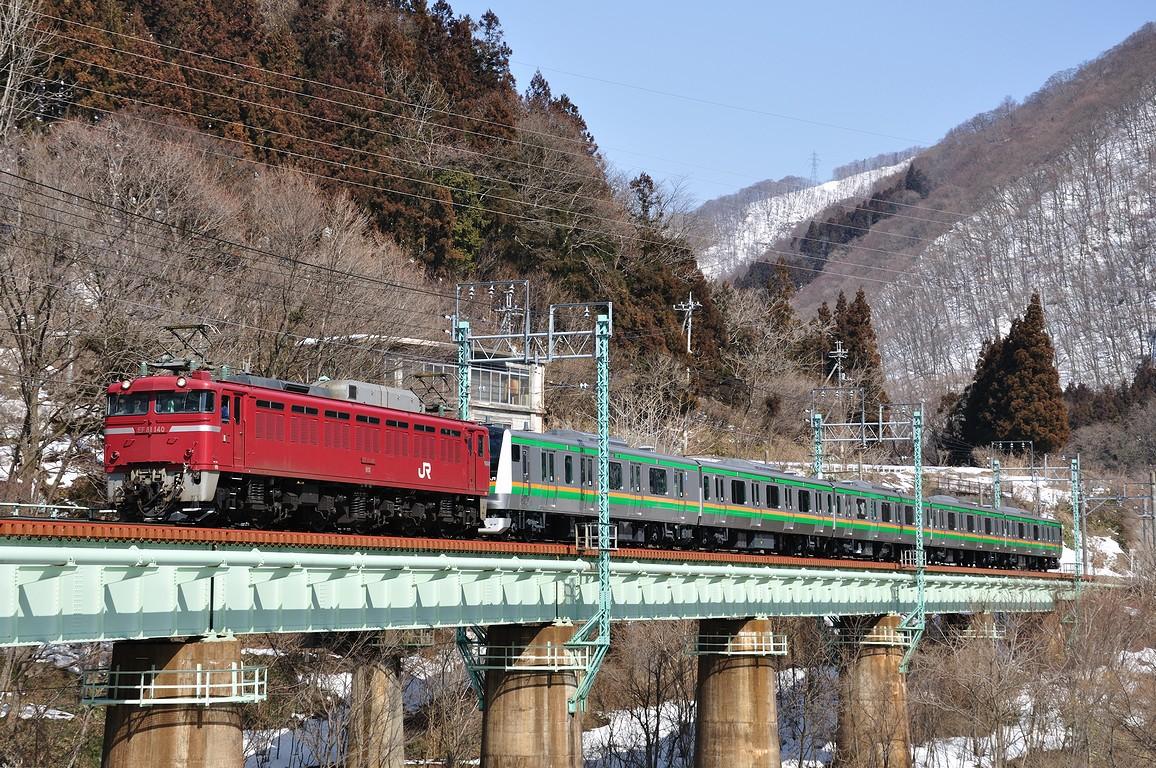 2013.03.06 1314_18(2) 湯檜曽~水上 配9772レ EF81 140+E233系s0.2