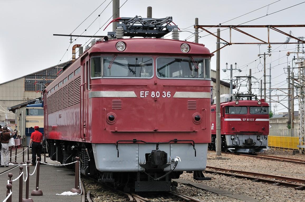 2013.05.25 1521_06(1) 大宮工場 EF80 36 EF81 133s