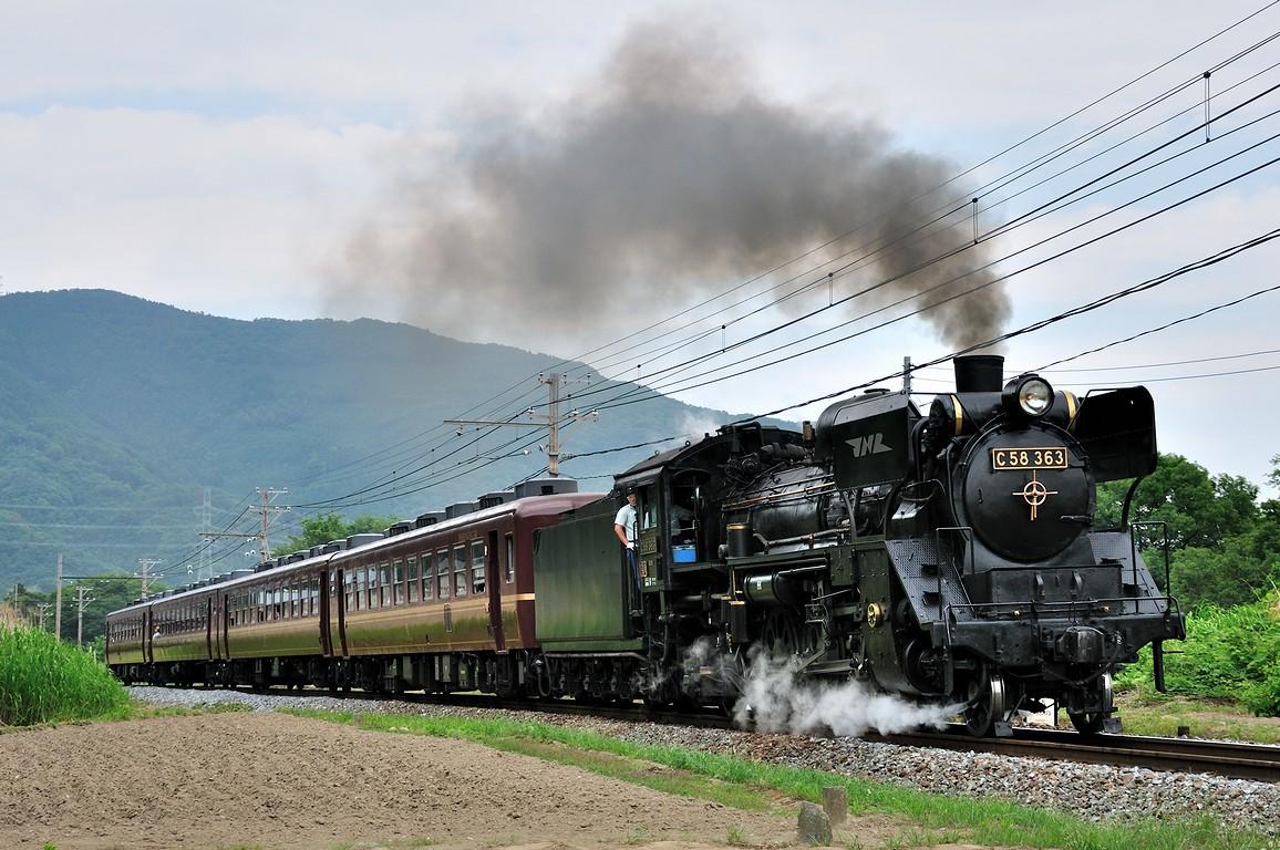 2013.06.08 1118_34(4) 樋口~野上 5001レ C58 363s