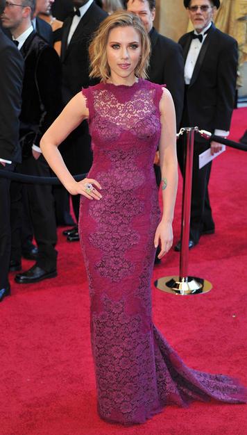 Academy Scarlett Johansson