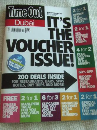 Time Out Coupon