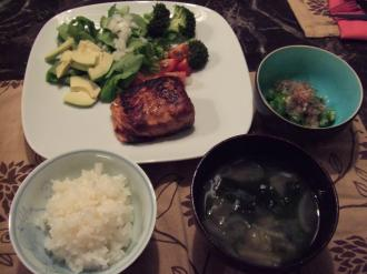 Dinner July 17 2011