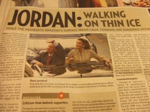 Jordan News Jul 2011