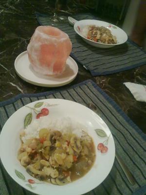 Dinner Aug 7 2011-2
