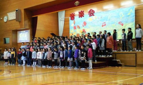 全校合唱(26.10.25)