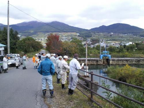 夜間瀬橋下流(26.10.23)