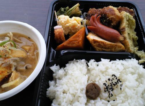 お弁当と豚汁(26.11.2)