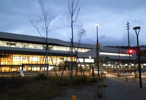 北陸新幹線飯山駅(26.11.6)