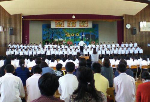 学年合唱(26.9.27)