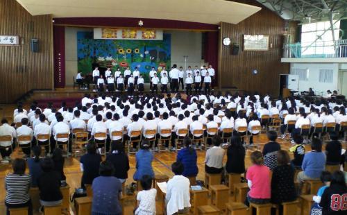 クラス合唱(26.9.27)