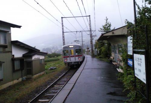夜間瀬駅(26.10.6)