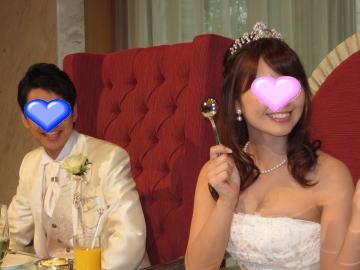 主人と無事に結婚式をあげることができました。