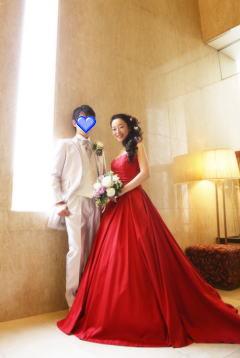 さしこちゃん、結婚式1
