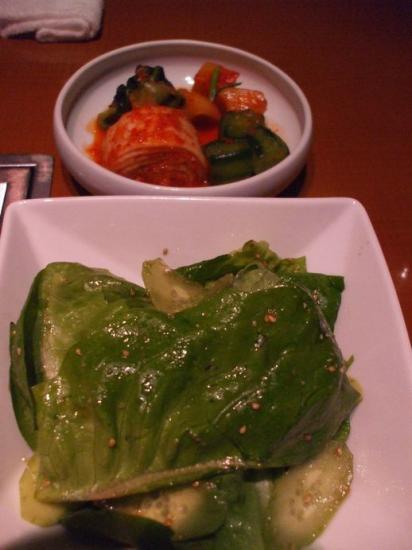 サラダ&キムチ