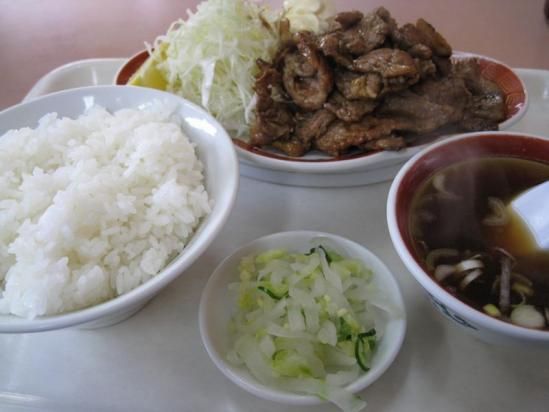 銀龍焼き肉定食01