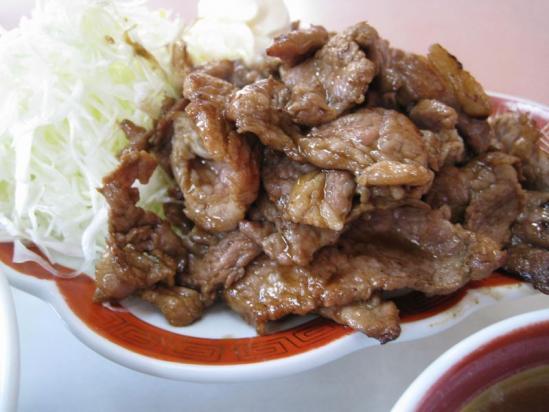 銀龍焼き肉定食02