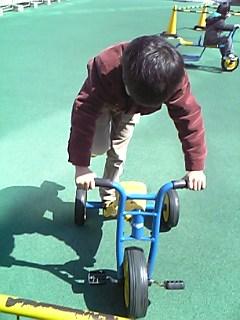 こど城 三輪車1