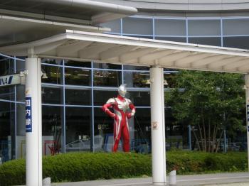 福島空港 ウルトラマン