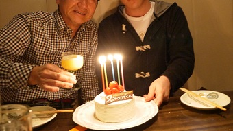 ケーキ誕生日