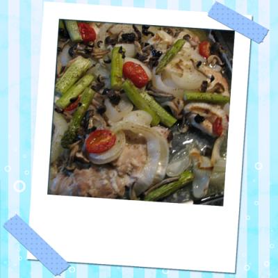 チキンと野菜のオーブン焼き
