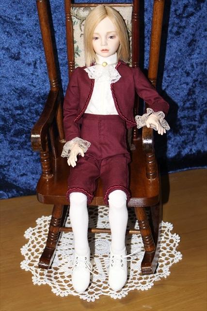 虹 (kou) ボレロの少年人形 (美少年ドールが作りたい)