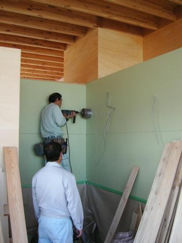 内装工事の様子3